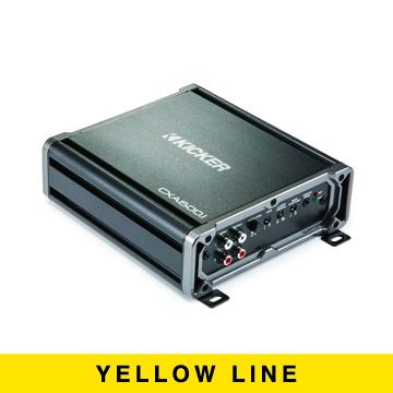 Kicker CXA6001 600W Monoblock | Class D Subwoofer Amplifier